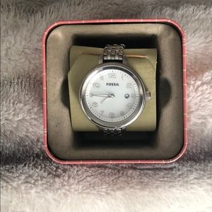 Fossil Silver Watch.
